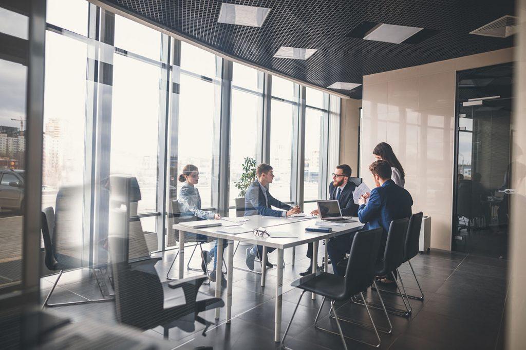 sales training brainstorming session